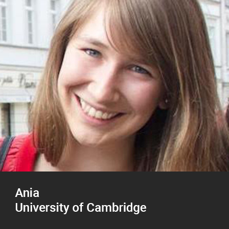 Ania, University of Cambridge 3